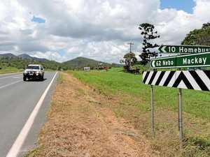 Rollover crash on Peak Downs Highway south of Mackay