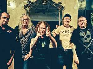 ROCKING ON: The Screaming Jets will have the Gladstone crowd screaming for more when they perform on Saturday at Harvey Road Tavern from 8pm.