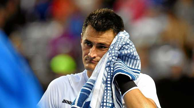 Bernard Tomic has lost a first-round match for the second consecutive tournament.