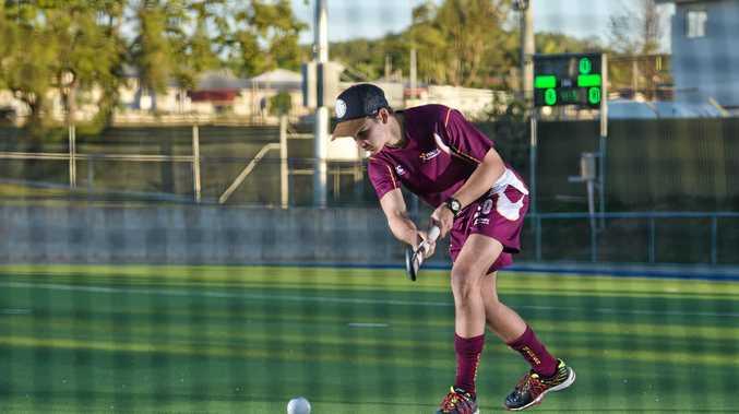 BIG WRAPS: Ronan McGuire has impressed Queensland U18 coach Aaron Harmsworth.
