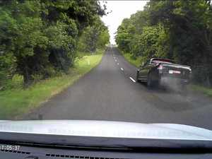 Lismore roads were seen as being partially to blame for this driver's bad overtaking manoeuvre.