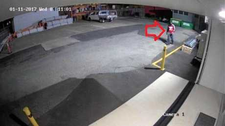 Police hope this CCTV footage will help with their inquiries into a burglary.