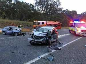 Driver spent '3km in wrong lane' before crash