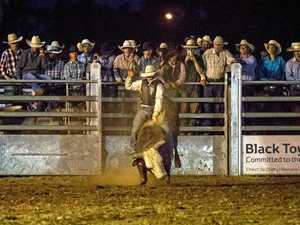 LIVE FAST: The Chinchilla Melon Festival Rodeo on Friday night attracted huge crowds, nominations and prize money.