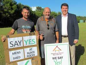 Town convoy to get behind Black Rocks Men's Shed