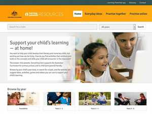 Government launches website to help families with homework