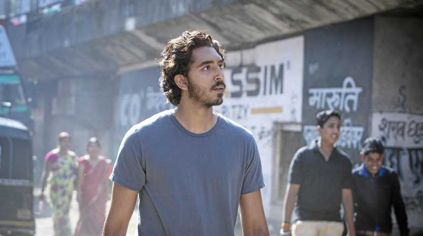 AT THE MOVIES: Dev Patel in a scene from the movie, Lion.