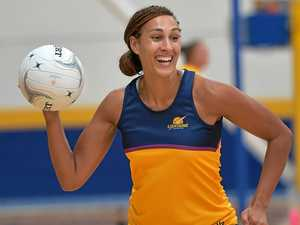 STAR: Geva Mentor is pumped for the Lightning's next game against the Melbourne Vixens.