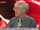 "(DON'T USE) Wealthy businessman Dick Smith has blamed the housing price spike on ""ridiculous immigration during an appearance on Sky News."
