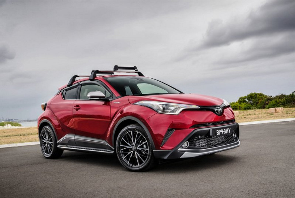 NEW DIRECTION: 2WD manual version of the all-new C-HR small SUV can be had for $26,990 before on-roads, with an auto version from $28,990