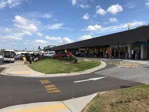 PHOTOS: Shoppers evacuated at Gladstone's Stockland