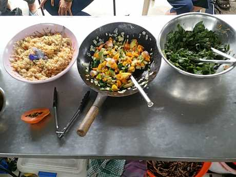 Cooking from the garden with Mackay Community Gardens.