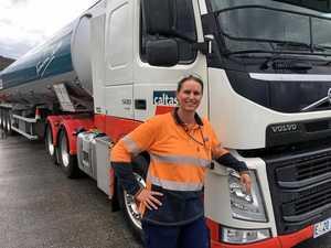 Tassie women in truckin': Kerri Connors