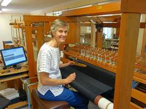Textiles master weaves her magic
