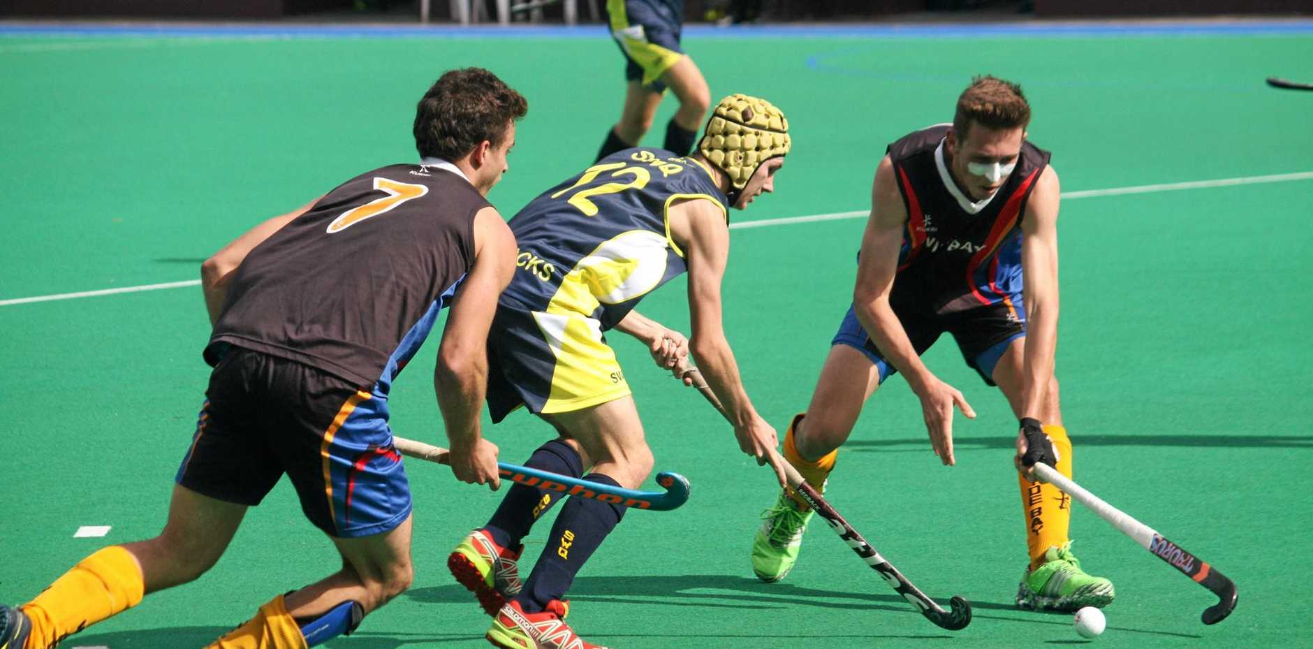 Ipswich and South West Queensland hockey player Nathan Smith is leading an Ipswich composite side this weekend.