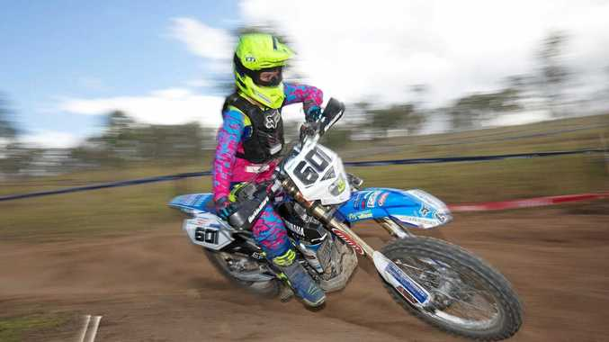 ON TRACK: Enduro sensation Jemma Wilson will head to Yeppoon this weekend to compete in Round 1 of the CQ-Off Road Series.