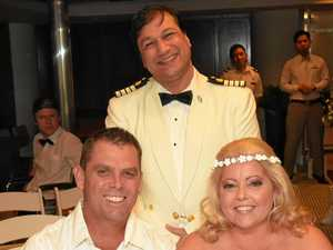 Cruise ship turns love boat to 'save dream wedding'