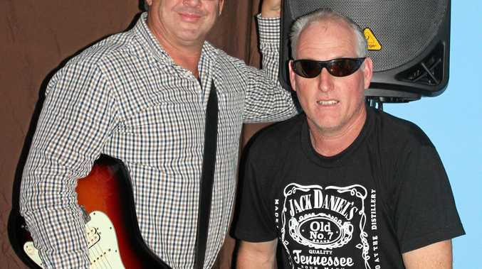 Hard Drive, Stephen Herbert and Dwayne Doyle, who are playing at the Clocktower Hotel this weekend.