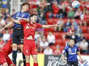 Reds rolled by ruthless Gamba Osaka