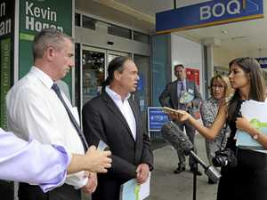 Health Minister Greg Hunt on Prince Street announcing funding for a Headspace in Grafton.