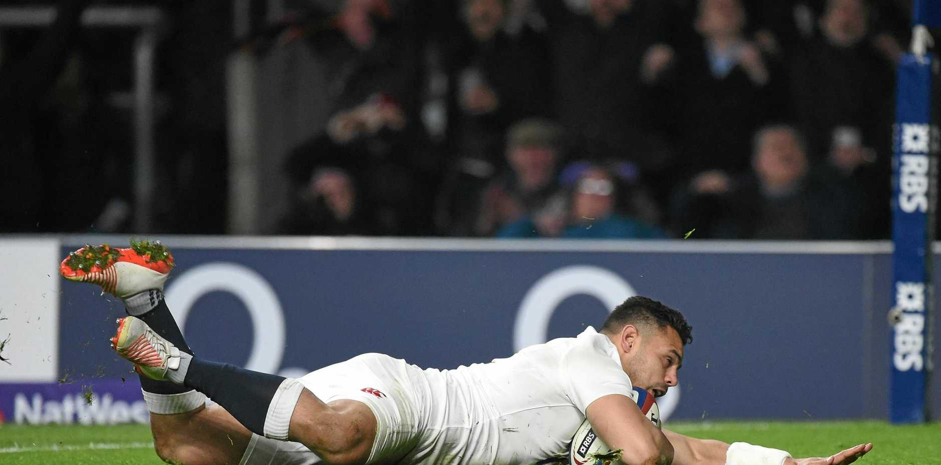 FORM REWARDED: Ben Te'o is a likely starter for England against Italy on the weekend.