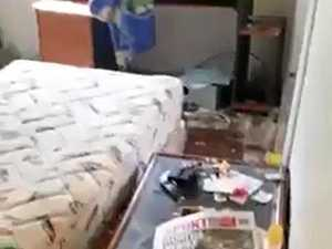 Home trashed by tenants