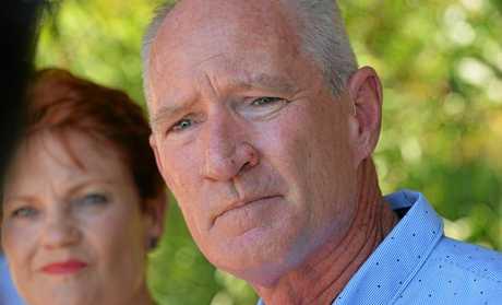 Pauline Hanson and Steve Dickson.