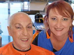 Annual fund raiser by pensioner