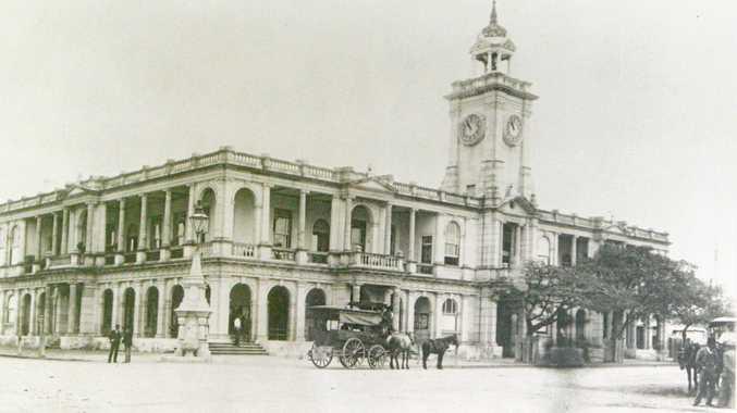 1895-postoffice-1 Post Office Rockhampton 1895.