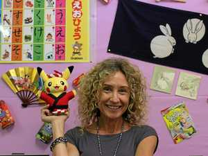 SPONDER SENSEI: Dalby South School LOTE teacher Kerry Sponder.