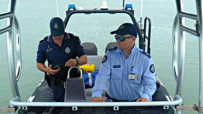 Queensland Boating and Fisheries Patrol and Mackay and Whitsunday Water Police teamed up for a four-day patrol of the Broadsound area.