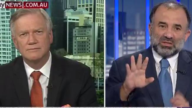 Andrew Bolt and Keyser Trad on Bolt Report Sky News
