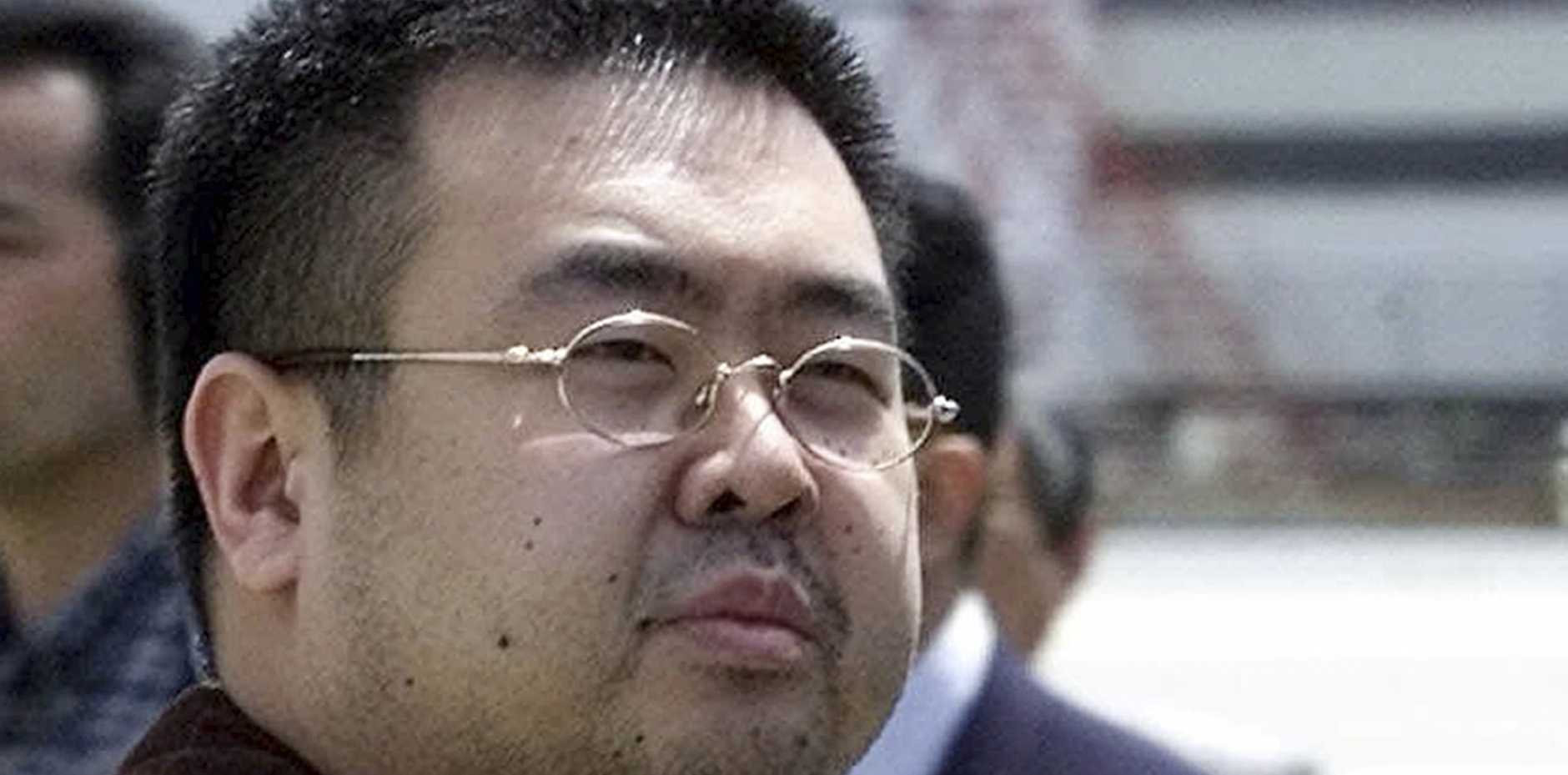 FILE - This May 4, 2001, file photo shows Kim Jong Nam, exiled half-brother of North Korea's leader Kim Jong Un, in Narita, Japan. No cause of death has been determined yet for Kim Jong Nam who died last week after apparently being poisoned in a Kuala Lumpur airport, officials said Tuesday, Feb. 21, 2017. (AP Photos/Shizuo Kambayashi, File)