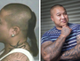 (L) Johnny Nguyen as a gangster and (R) Johnny said drug dealing was not glamorous. Picture: Melvyn Knipe
