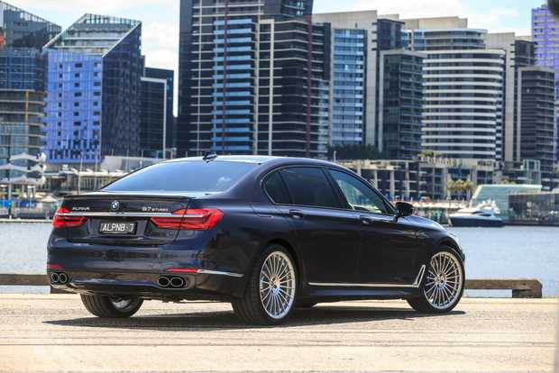 SLEEPER: $369,720 447kW/800Nm V8 BMW-Alpina B7 Bi-Turbo Sedan hits 100kmh in 4.2-seconds while occupants enjoy palace-like luxury