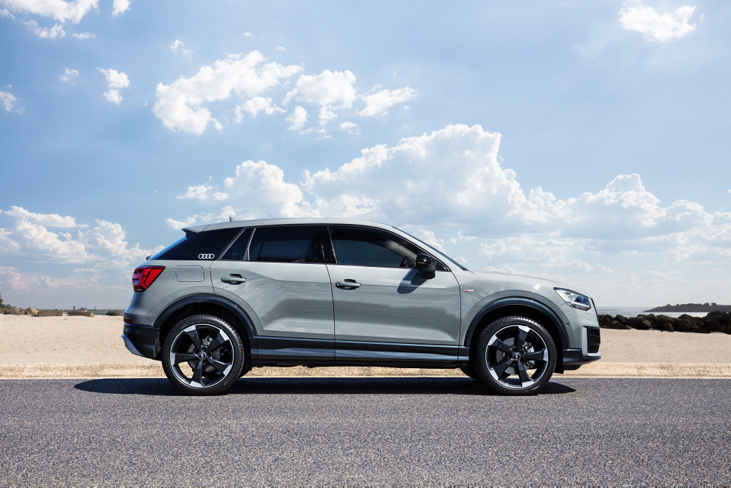 BABY Q: Audi's Q2 compact SUV, priced from $41,100, is flush with style and quality to snare the premium-loving young and young-at-heart shoppers.