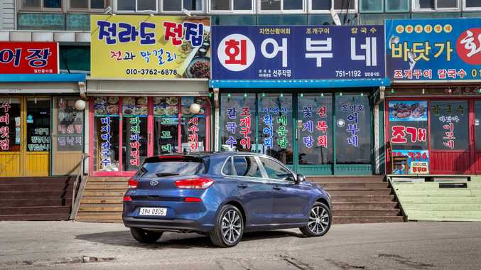 The new Hyundai i30 will go on sale here mid-April.