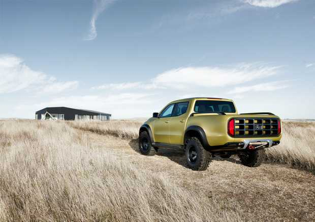 Mercedes-Benz Concept X-Class arrives in Australia