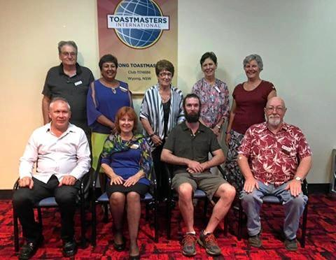 VOCAL GROUP: The Wyong Toastmaster members.