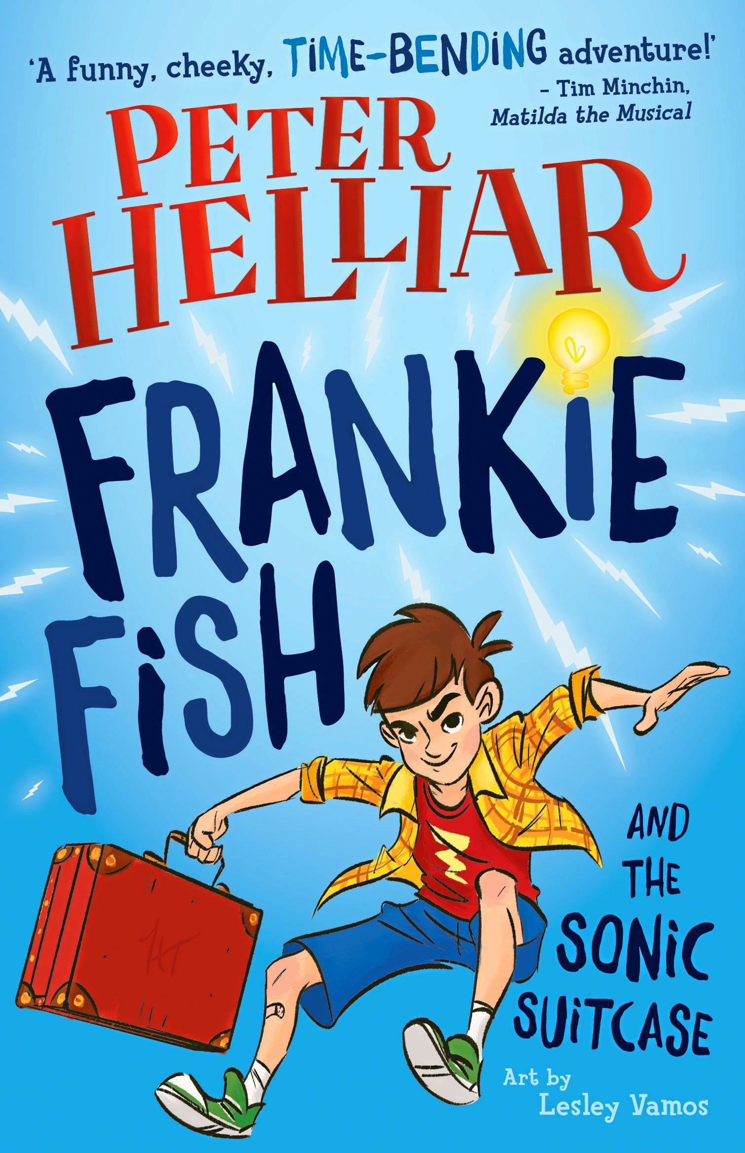 Peter Helliar is releasing a children's book, Frankie Fish and the Sonic Suitcase