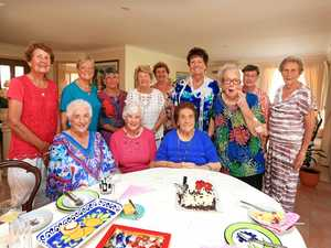Pollie's wife shares her 94 years.