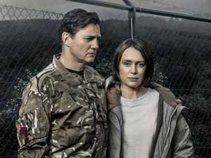 David Morrissey, Keeley Hawes, Abigail Hardingham and Tcheky Karyo in a scene from The Missing.