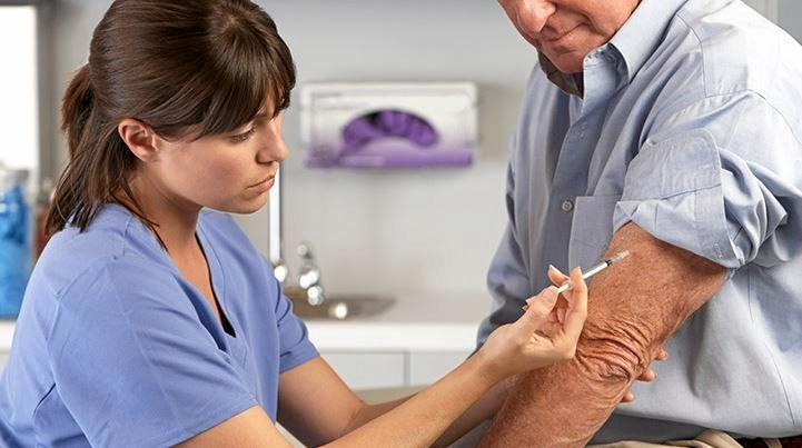 FLU: Get ahead of the winter cold and get your annual jab this autumn.