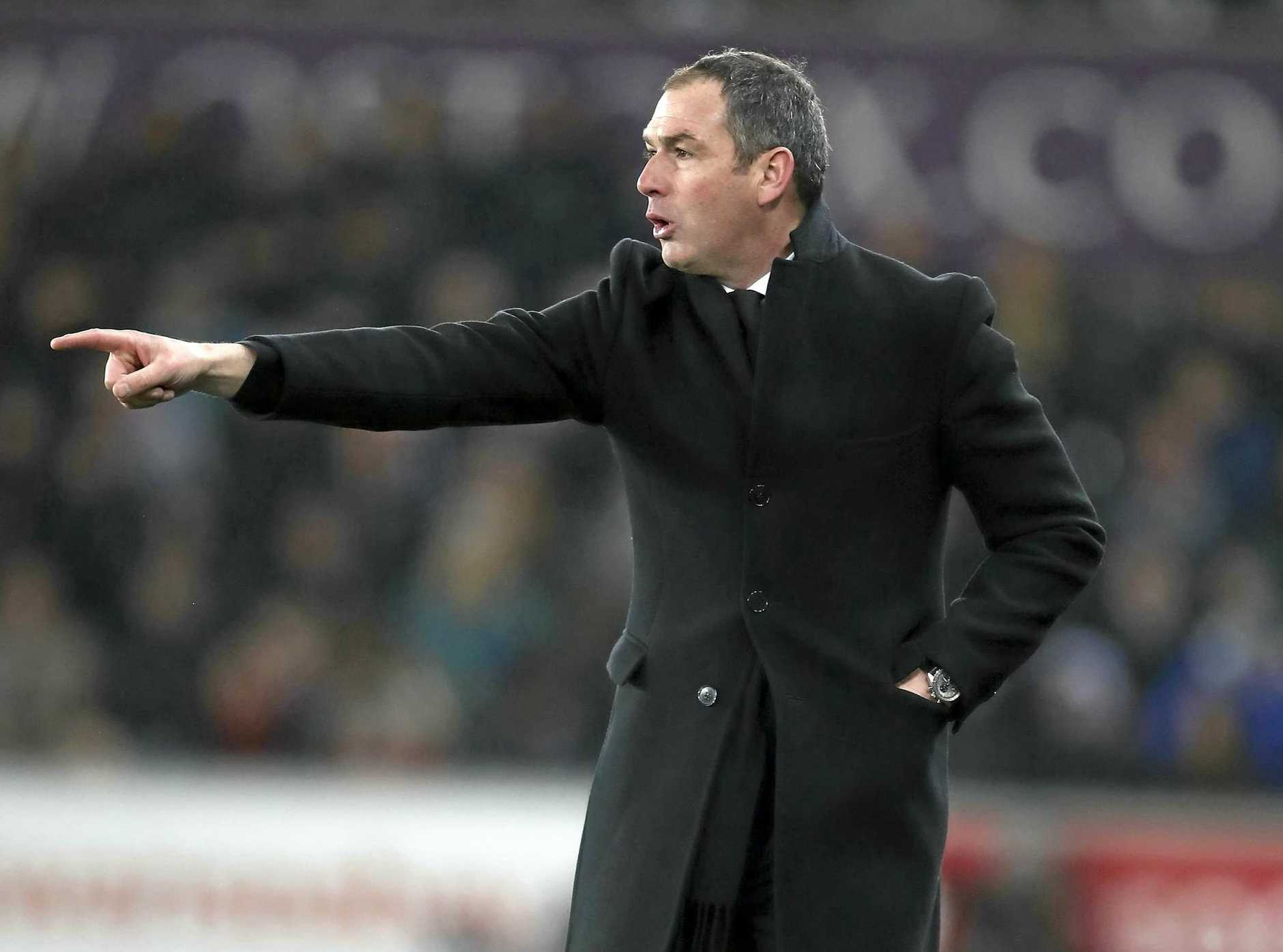 Swansea City manager Paul Clement.