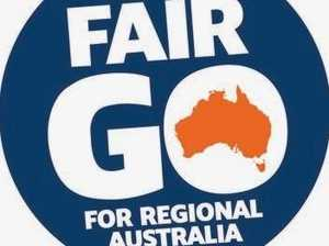 "Fair Go! Regions to become ""powerhouse"" with 13-year plan"