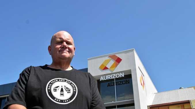 WORKFORCE HIT: Rail union organiser Bruce Mackie said Aurizon's decision to stop hauling Wilmar sugar was a kick in the guts for its workforce.