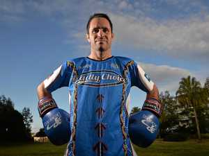 CHAMP: Brad Hore is raising funds to educate against violence.