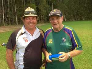 MUCH-LOVED: Popular St Teresa's Catholic College teacher Dave Glassock (L) has lost his battle with cancer.