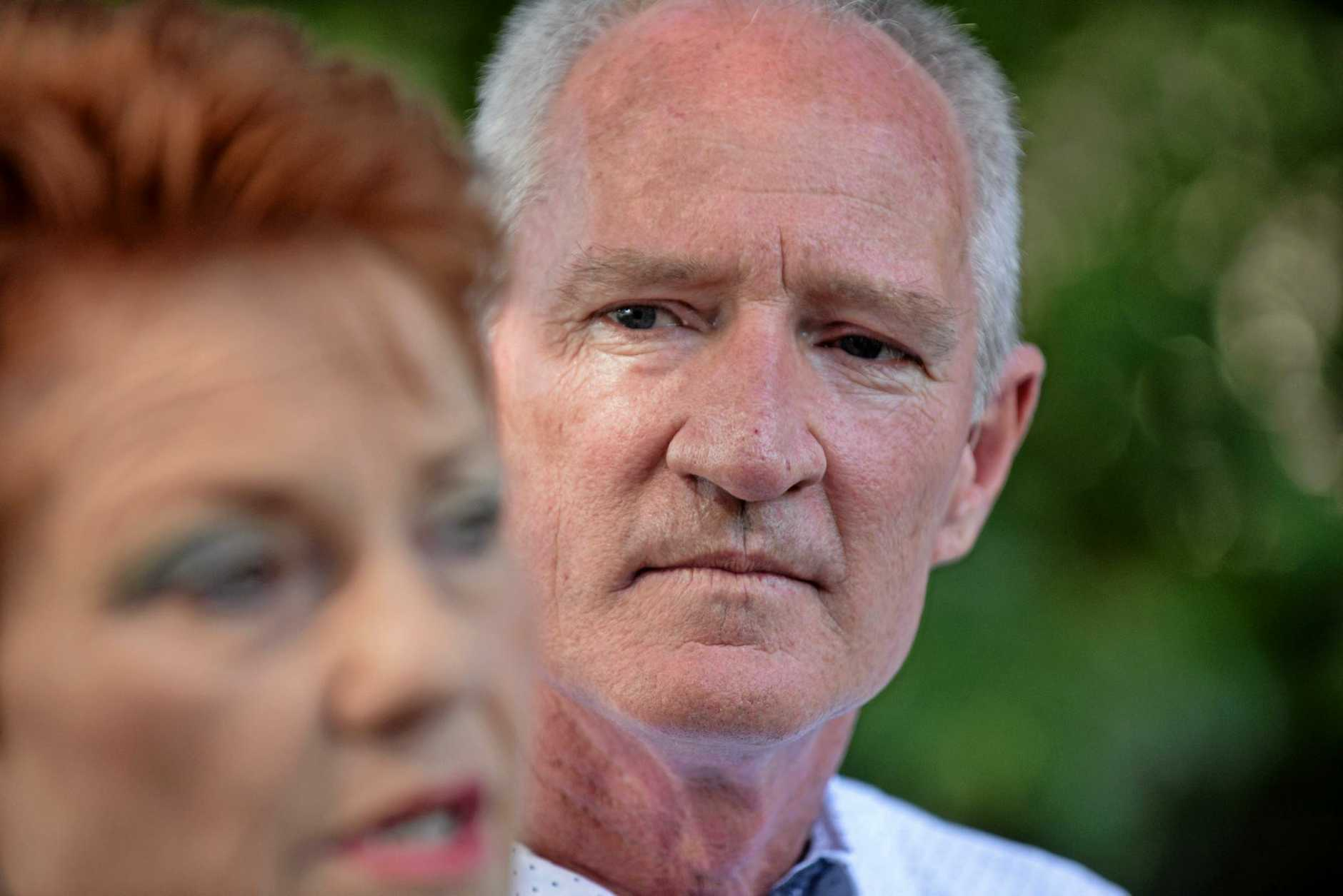 ONE Nation Queensland leader Steve Dickson (Buderim), with Pauline Hanson, says eh thinks the Premier will call an early election, a move she has denied.