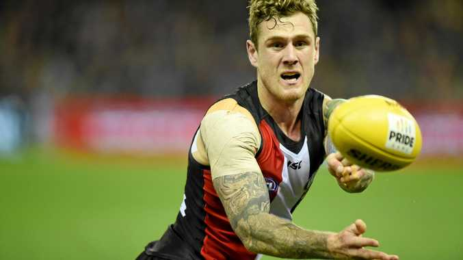 Tim Membrey of the Saints.